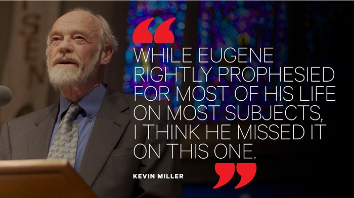 Eugene Peterson's New Message