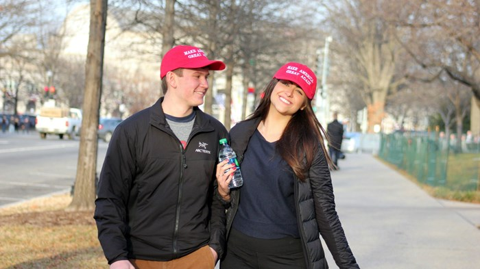 Young, Female, and Pro-Trump