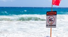 80 Beachgoers Form Human Chain to Save Swimmers from Rip Current