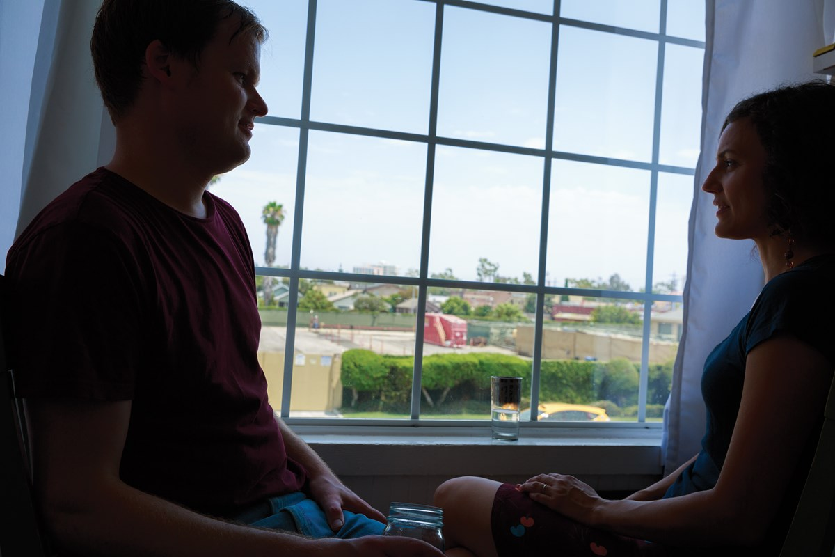 Drilling at the oil well next door shakes Corissa and Nathan Pacillas Smith's house 'like a minor  earthquake.'
