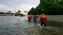 Houston Churches Fight Flooding After Harvey Cancels Services