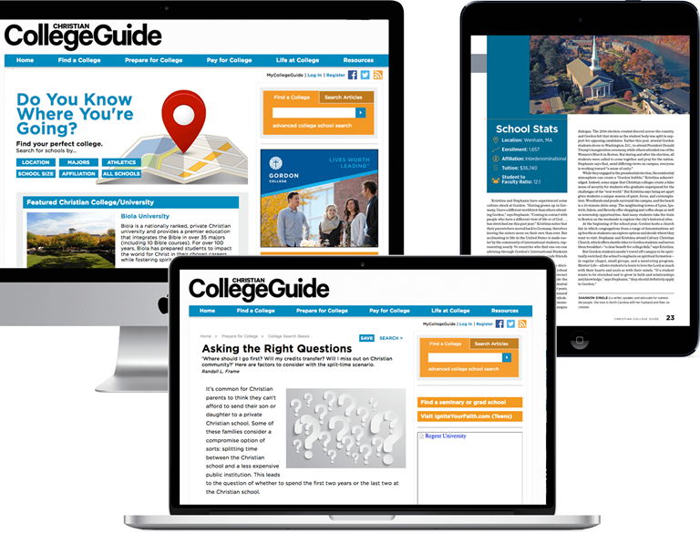 Christian College Guide