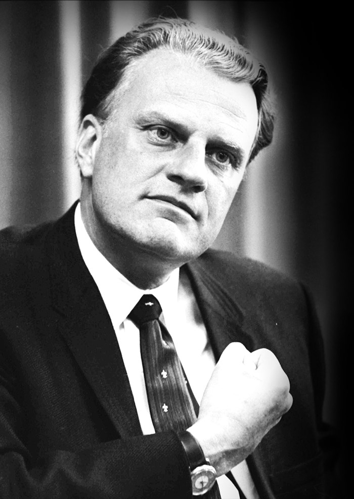 Remembering Billy Graham - April