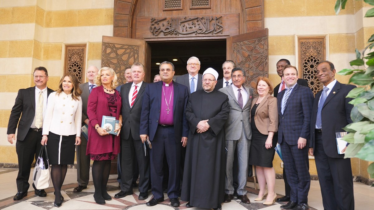 US evangelicals meet with Egypt's grand mufti.