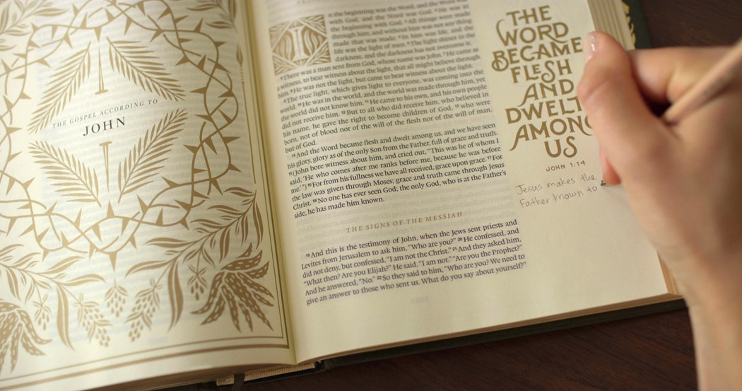 Beautiful Word The Story Of The Esv Illuminated Bible