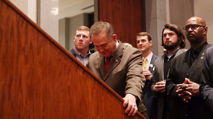 Roy Moore Was 'a Bridge Too Far' for Alabama Evangelicals