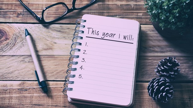 New Year's Resolutions Help Sharpen Our Focus