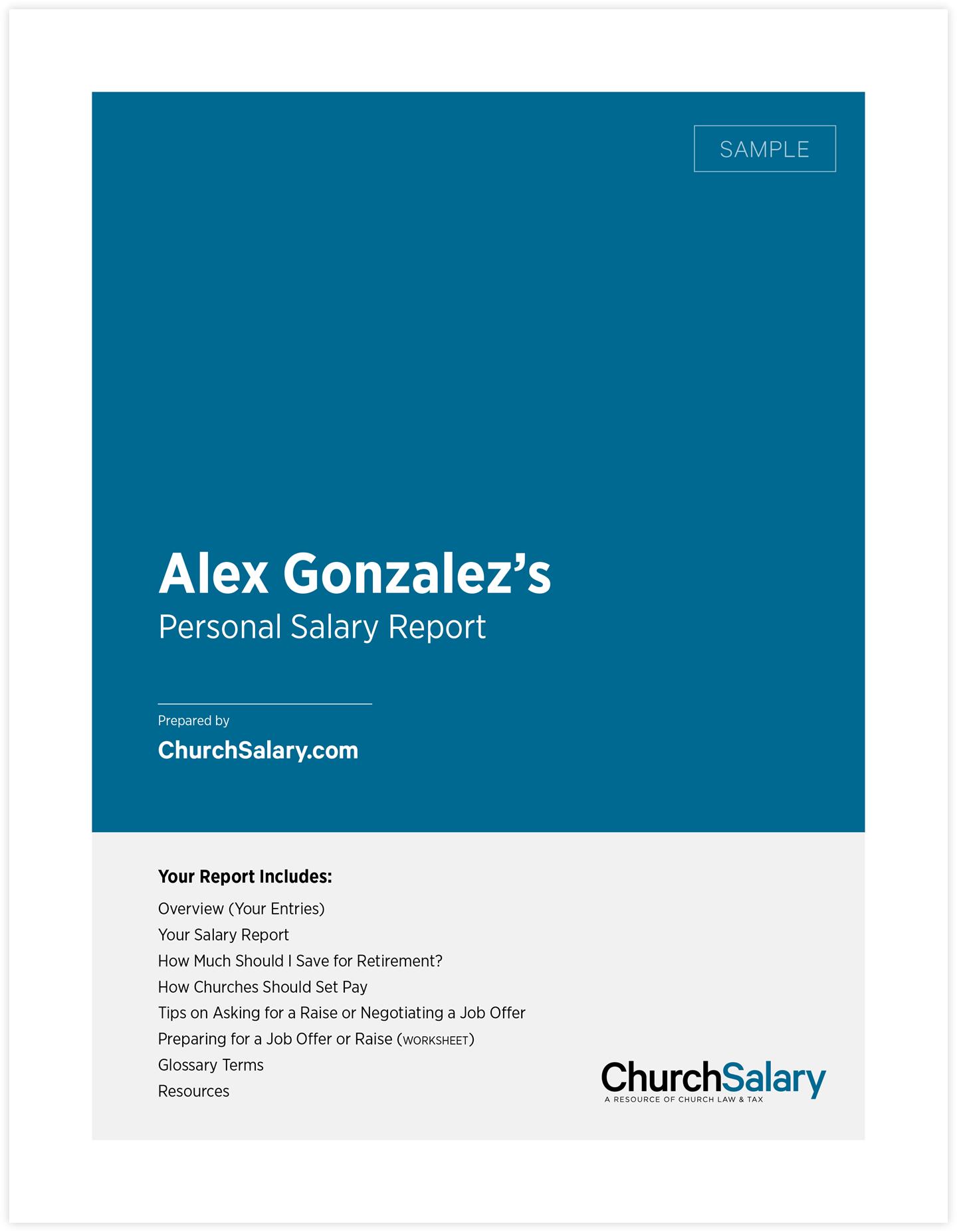 ChurchSalary   Church Law & Tax