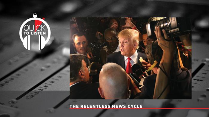 Trump Talk Is Relentless. It's Not Always Newsworthy.