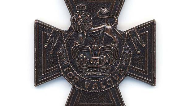 The Victoria Cross Is Given for Acts of Self-Sacrifice