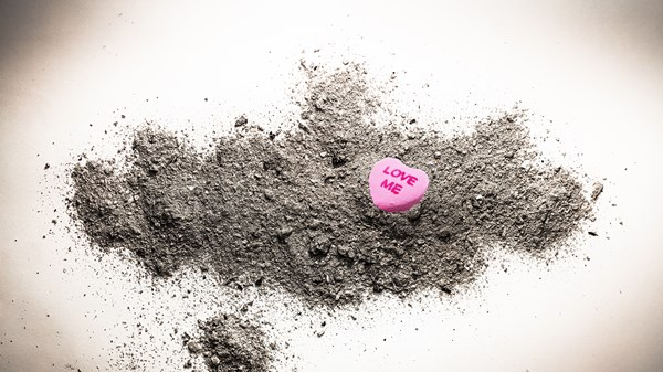 God's Message on 'Ash Valentine's Day': True Love Dies