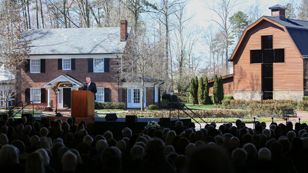 Billy Graham Is in Heaven. His Funeral Guests Got a Glimpse of It.