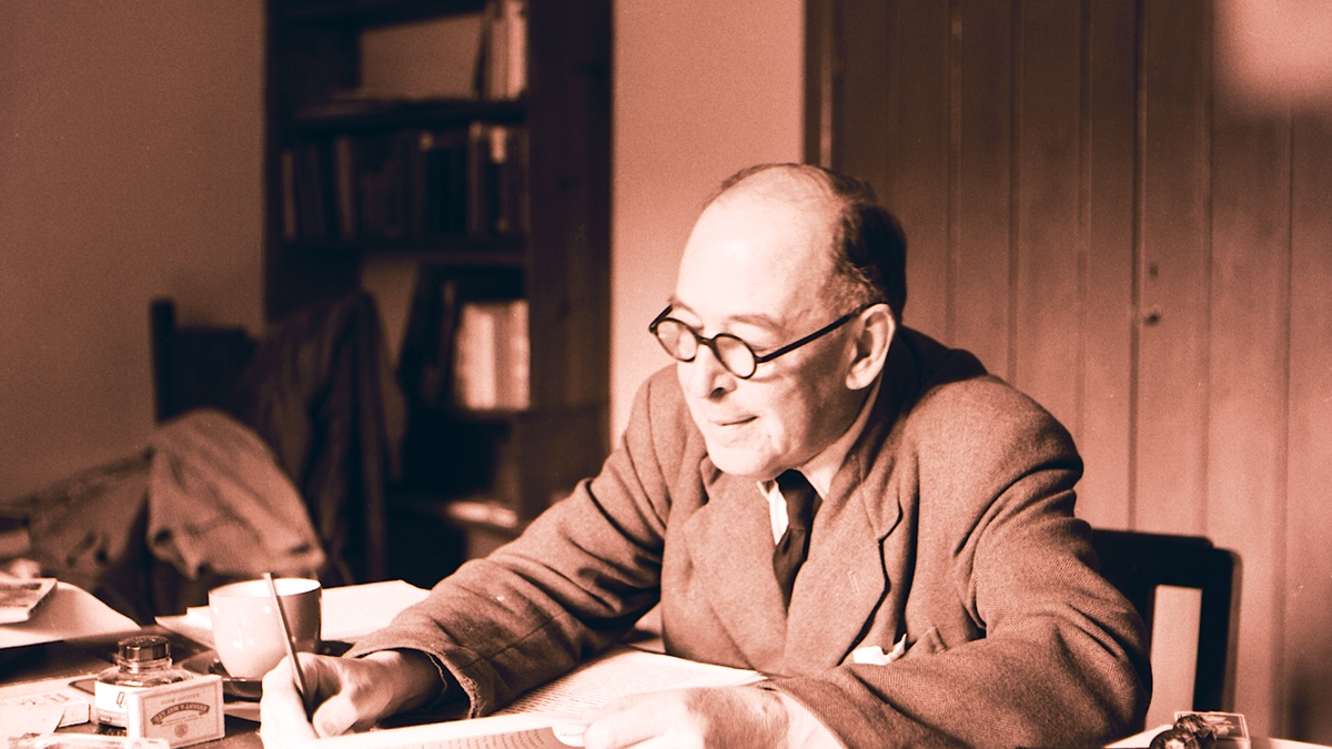 Why did cs lewis became a christian