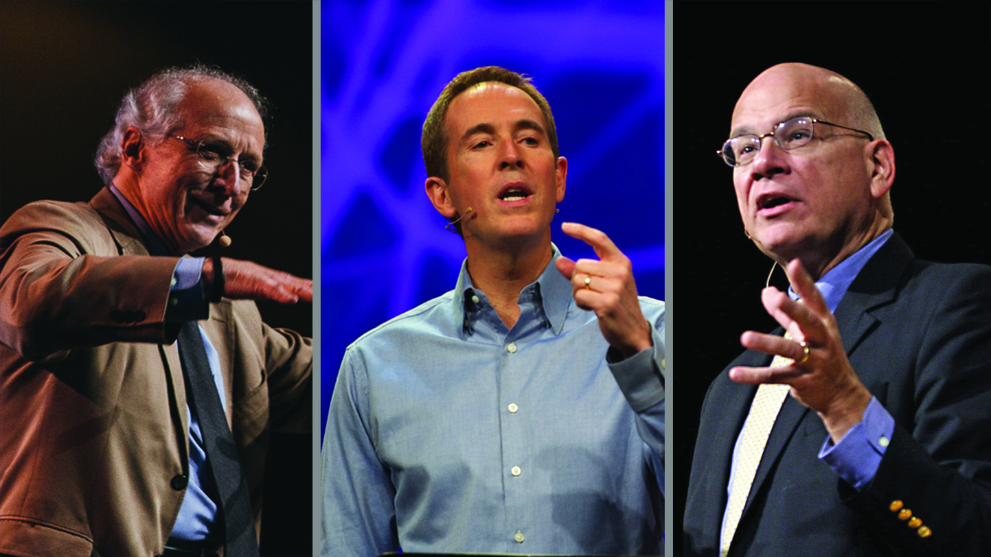 Tim Keller, John Piper, and Andy Stanley Among the 12 'Mos