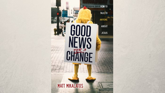 One-On-One with Matt Mikalatos on Good News for a Change