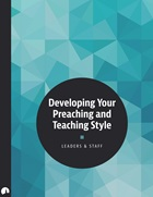 Developing Your Preaching and Teaching Style