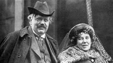 When G.K. Chesterton Arrived in America