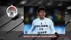 Brazilian Soccer's Evangelical Embrace Mirrors Its Nation's