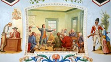 Curious Mix in the Continental Congress