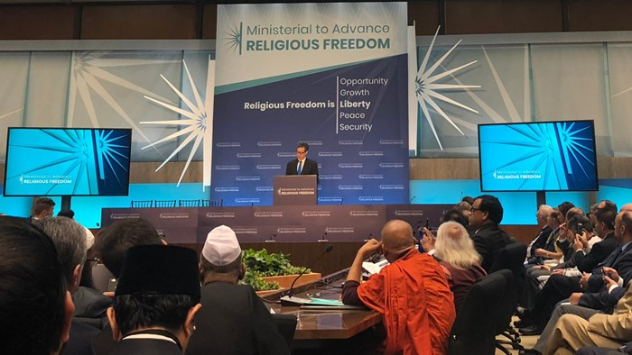 Persecution of Andrew Brunson, John Cao Shared at Religious Freedom Ministerial