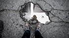 Pothole Becomes Ad-Hoc Community Garden