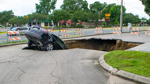 Sinkholes and Choices