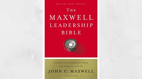 One-on-one with John C. Maxwell on 'The Maxwell Leadership Bible'