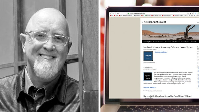 James MacDonald Sues Harvest Bible Chapel Critics for Libel