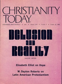 October 10 1969 Christianity Today Magazine Archives