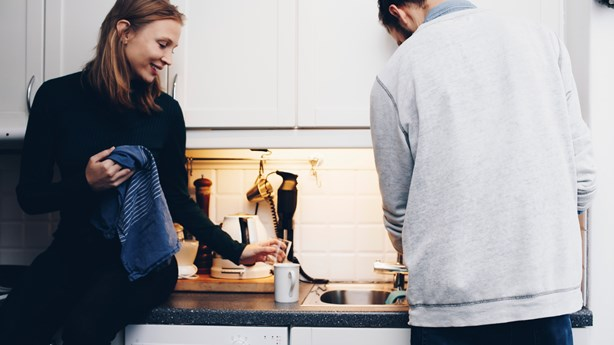 Want a Happy Marriage?  Do the Dishes Together.