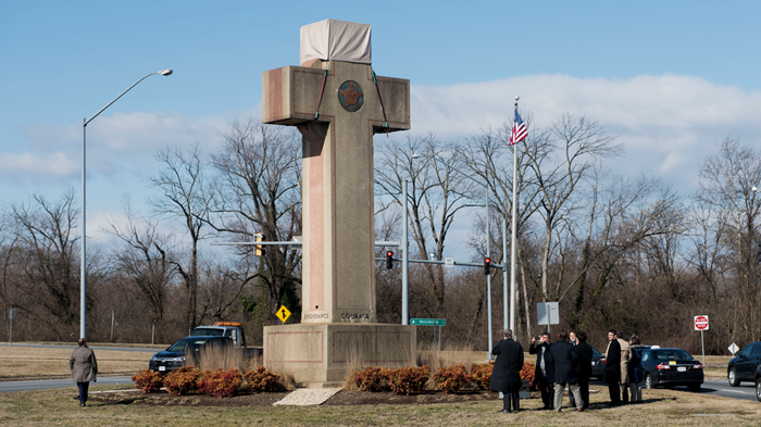 Supreme Court: Peace Cross Gets to Stay, But Not Because It's 'Secular'