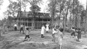 Dowling Park orphans at play in the early days