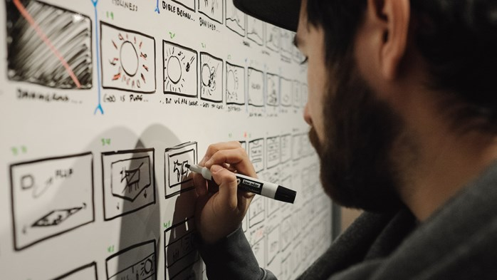 Storyboarding a Bible Project video