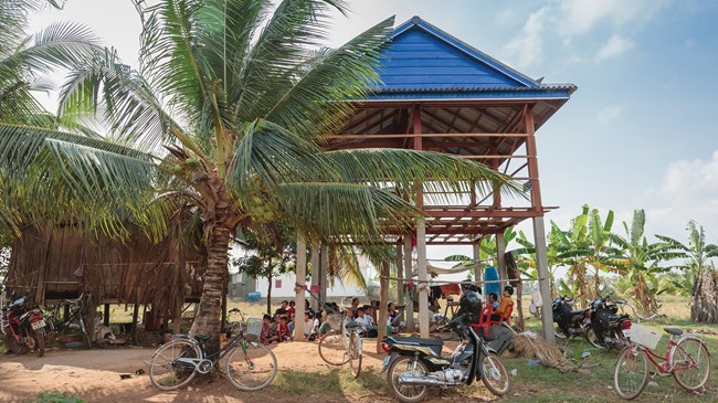 "Reach A Village founder Bob Craft believes Cambodia could become the first country where they will see a church planted in every village. ""A healthy church within walking distance of everyone on earth should be our ultimate goal."""
