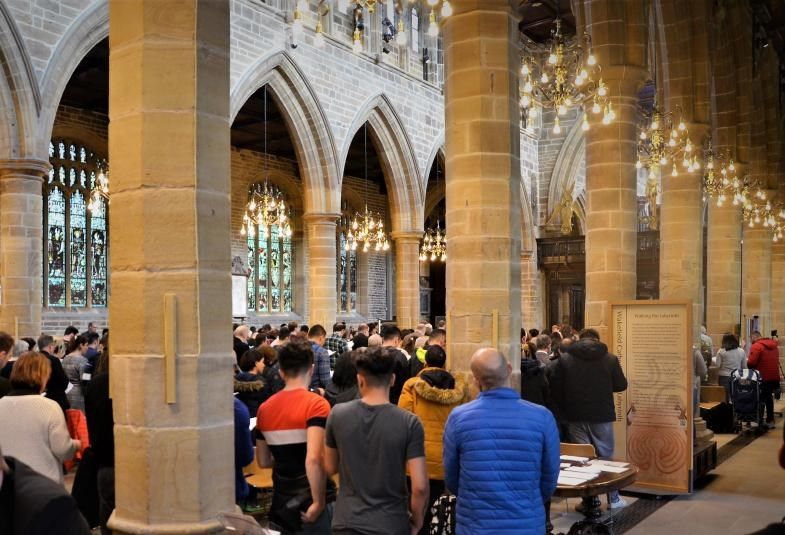 Wakefield Cathedral was the first to use a new Farsi liturgy approved by the House of Bishops to accommodate Iranian worshipers.
