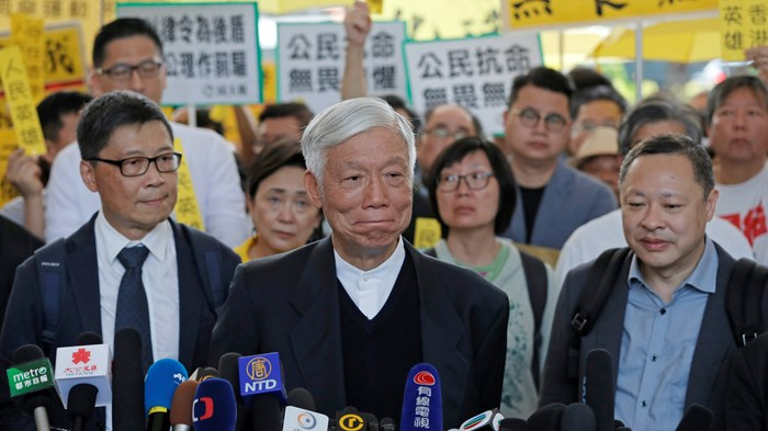 Hong Kong Pastor Facing Prison Preaches the Sermon of His Life