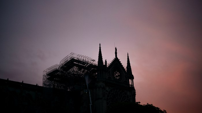 At Notre Dame, Good Friday Came Early