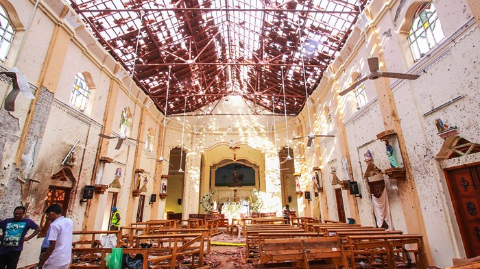 Easter Suicide Bombings Kill 290 at Sri Lankan Churches and Hotels
