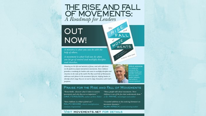 One-on-One with Steve Addison on 'Rise and Fall of Movements: A Roadmap for Leaders'