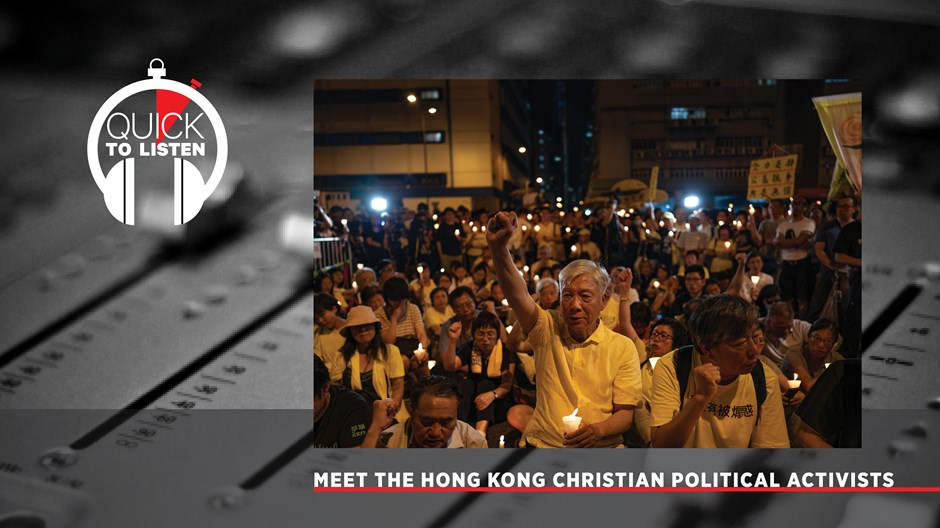 The Christian Backstory of Hong Kong's Pro-Democracy Protests