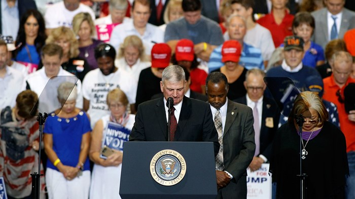 Franklin Graham Declared a Day of Prayer for President Trump. Christian Leaders Weigh In.