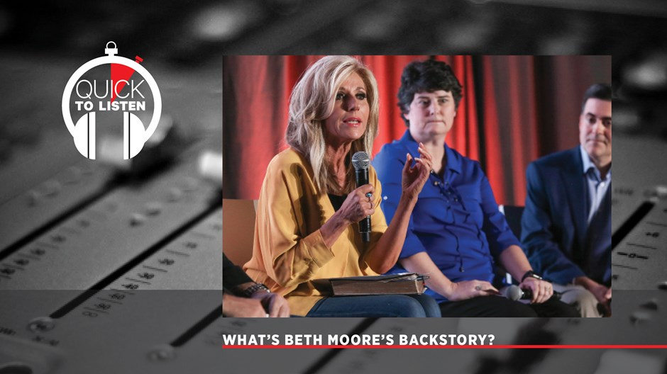 Beth Moore Is Speaking Up