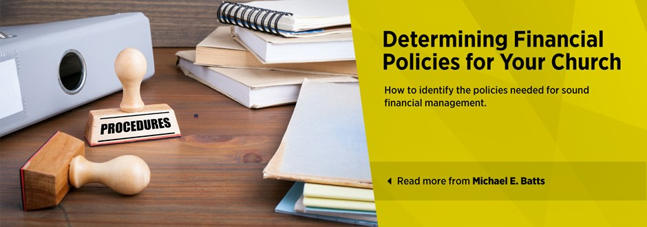 Determining Financial Policies for Your Church