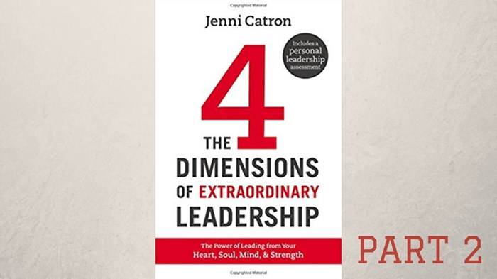 Jenni Catron on Women in Leadership and Leadership Burnout, Part 2