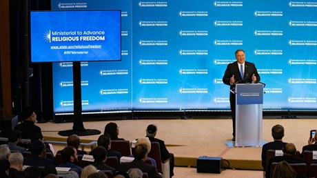 Pompeo: Why We're Hosting the World's Biggest Event on Religious Persecution