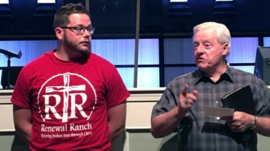He Got High and Broke Into a Church. Months Later, He Was Baptized There.