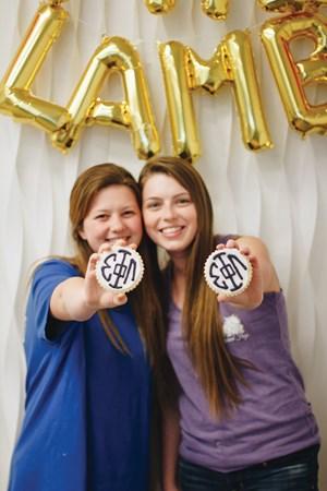 Sigma Phi Lambda sisters at Texas Christian University