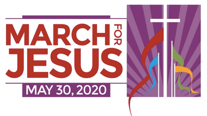 Let's MARCH FOR JESUS ... Again