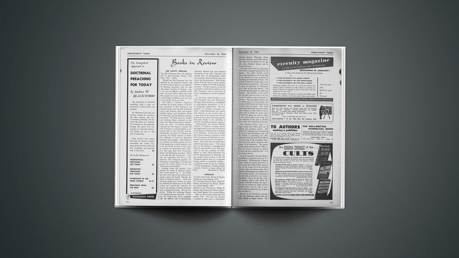 Book Briefs: November 12, 1956