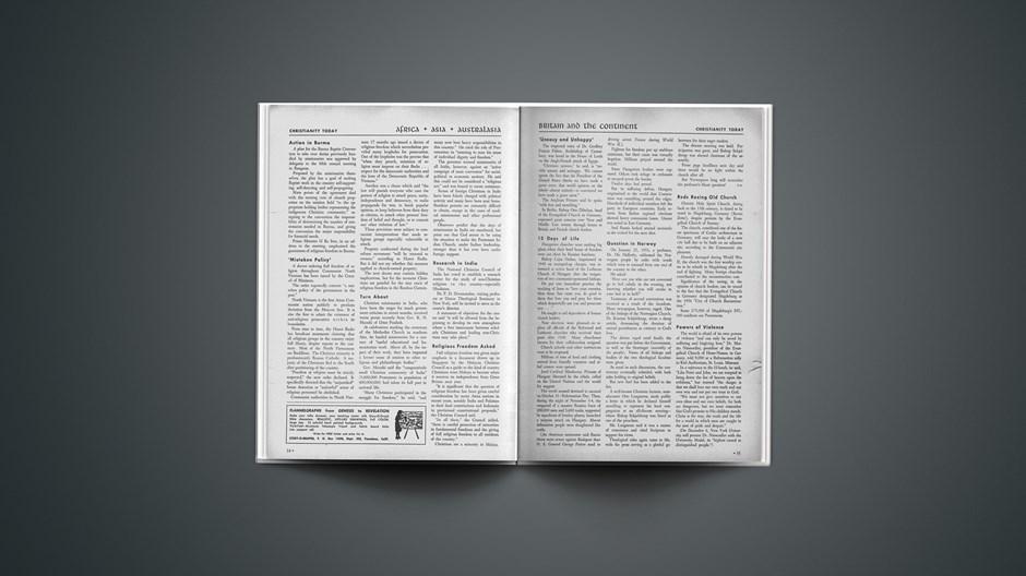 Africa + Asia + Australia News: November 26, 1956